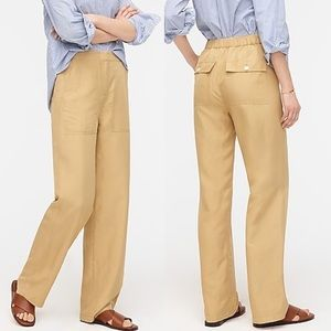 J.CREW STRAIGHT-LEG PANT WITH SURPLUS POCKETS